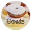 donut baby shower theme banner