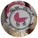 Shabby Chic Baby Shower Theme Banner