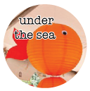 under the sea baby shower theme banner