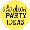 adoption baby shower theme banner