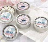 nautical girl baby shower favor ideas