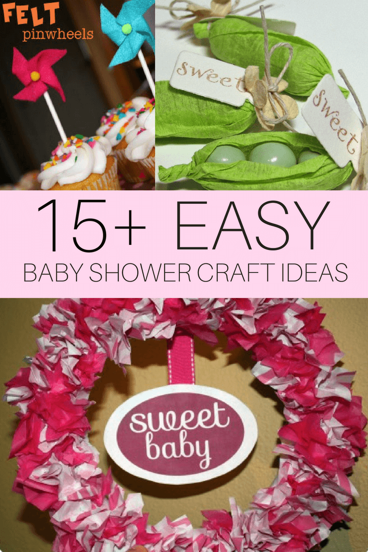 craft ideas for baby shower decorations diy baby shower craft ideas cutestbabyshowers 7555