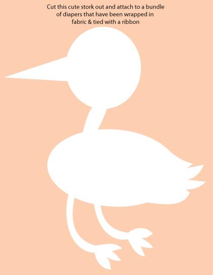 stork baby shower