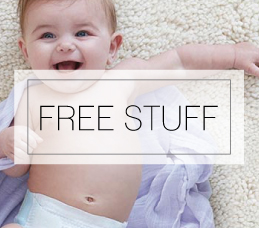 banner for free stuff for moms and babies