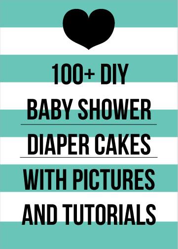 DIY Diaper Cake Tutorials picture