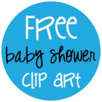 free baby shower clipart banner