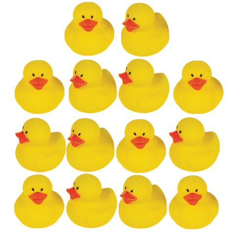 Floating Mini Duckies Baby Shower Game