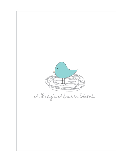 picture of bird wall art for a baby
