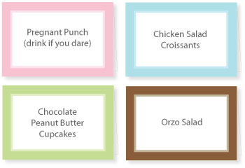 The Best Baby Shower Appetizers Free Recipes Printable