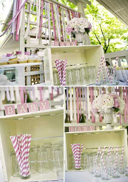 pink and lavender baby shower ideas decor to inspire you