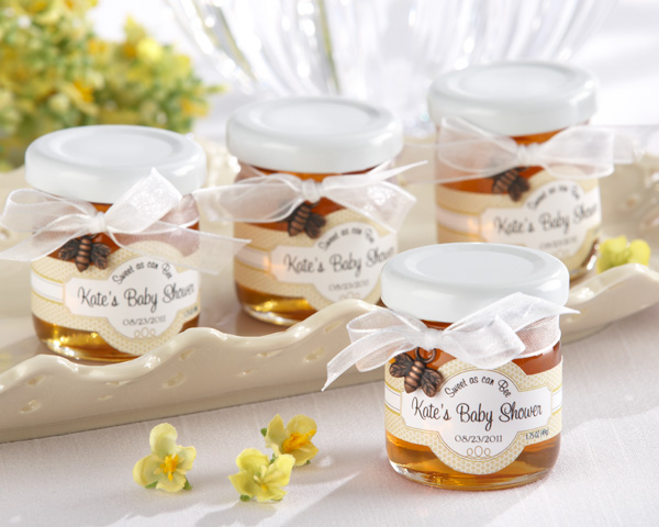 honey jar baby shower favors picture