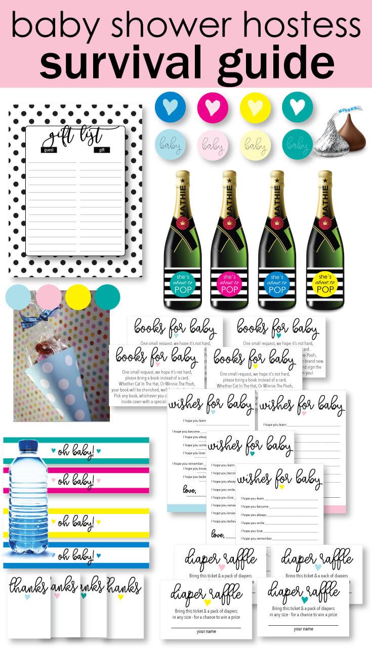 baby shower ebook banner