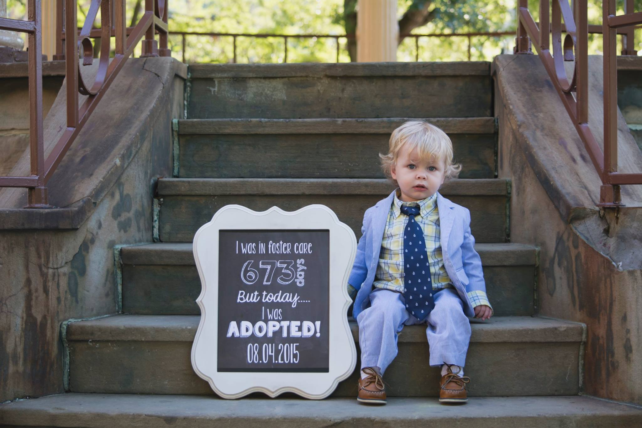 picture of Adoption Day photo sign