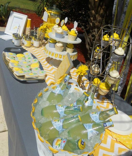 picture of yellow dandelion baby shower