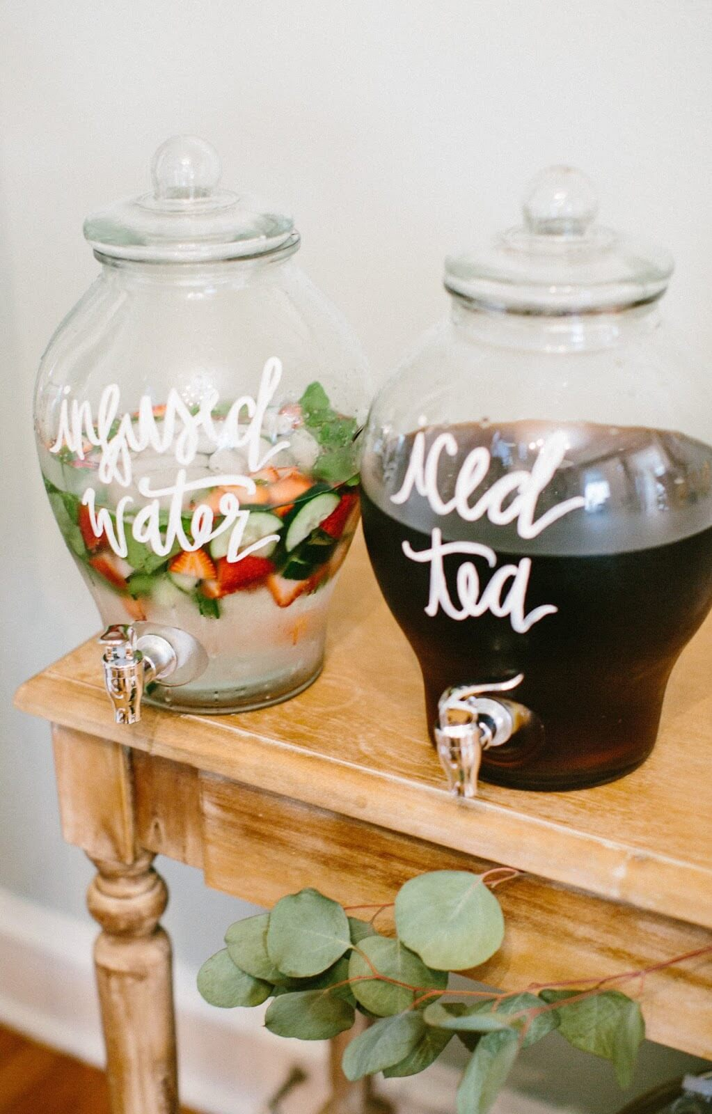 Stylish Drinks For A Baby Shower