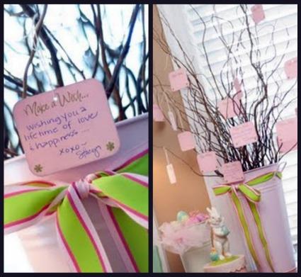 Baby Shower Wish Tree Wording Wedding Tips And Inspiration