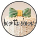 bow tie baby shower picture