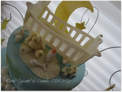 baby boy cake banner