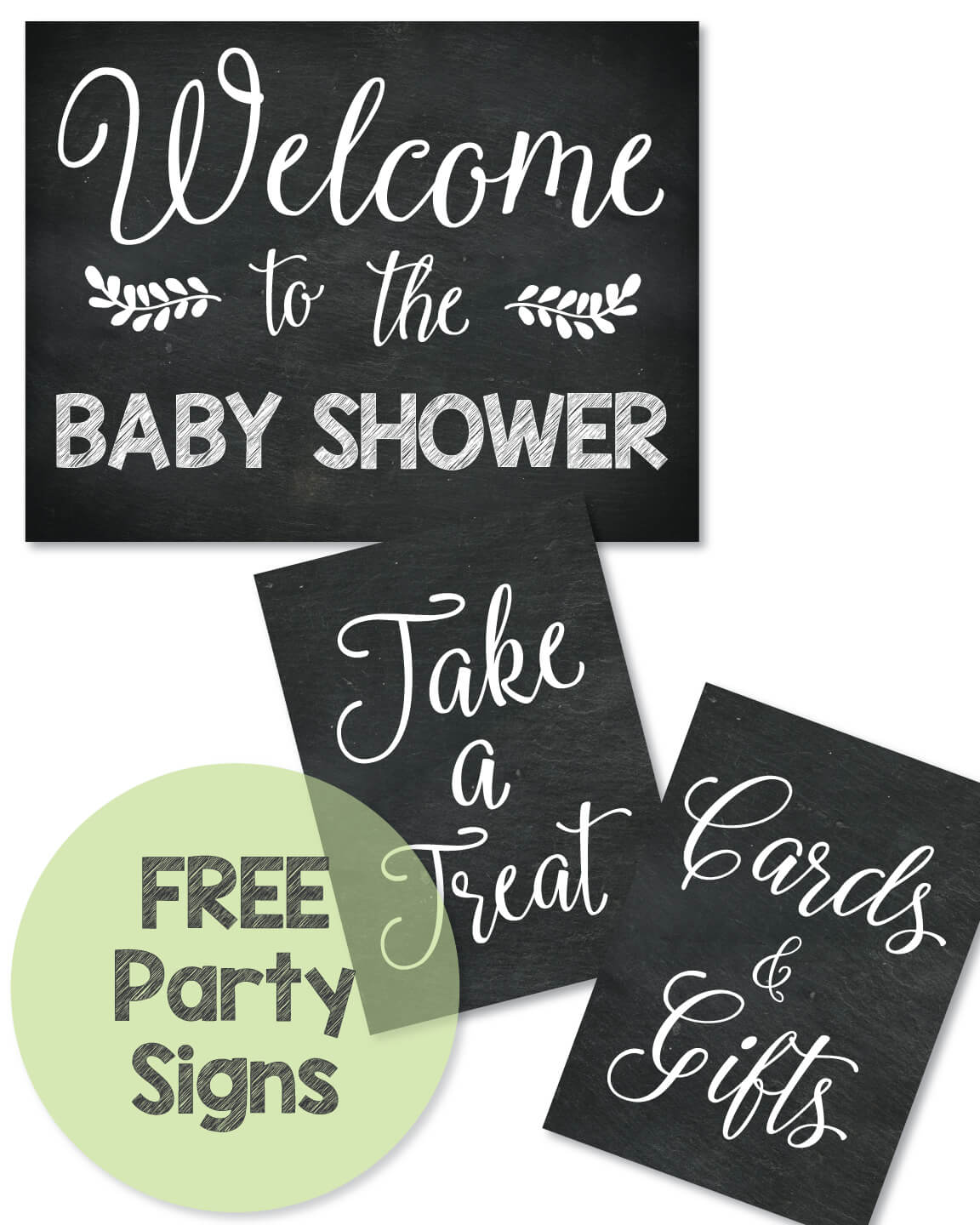 Free Baby Shower Signs Banner