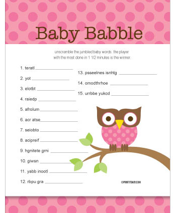 results for free baby word scramble games calendar 2015