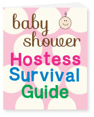 banner of baby shower hostess survivor pack