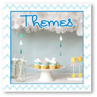 baby shower themes banner