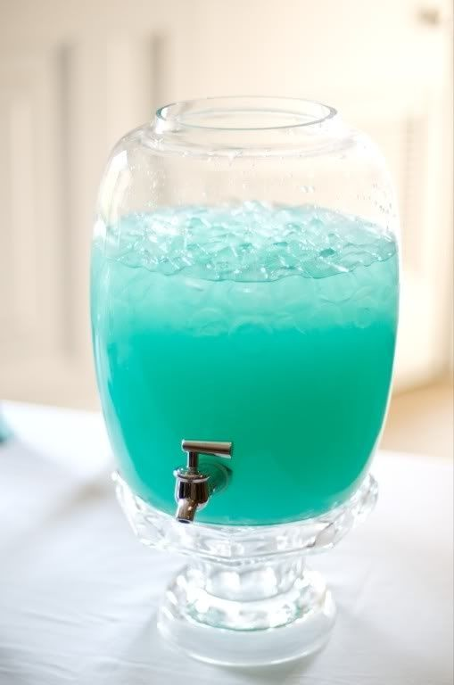 Picture of blue punch recipe