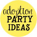 adoption baby shower theme banner