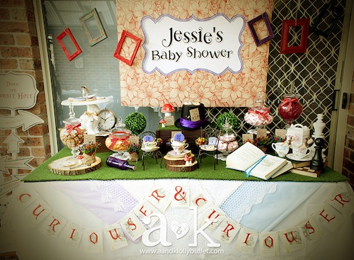 go back gallery for alice in wonderland baby shower games