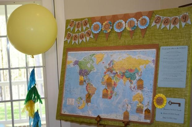 Welcome To The World Party decor image