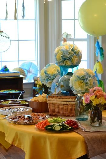 Welcome To The World Baby Shower Theme Ideas With