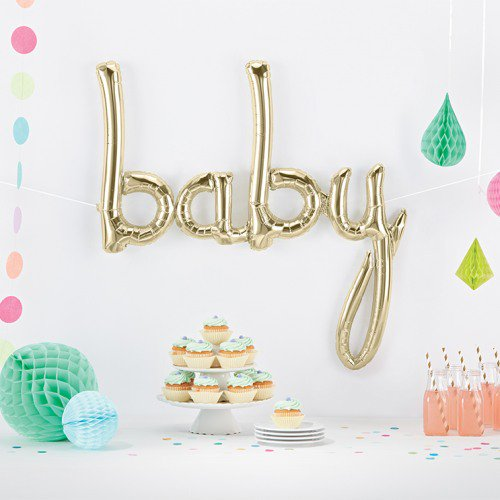 balloons for boy baby shower decorations