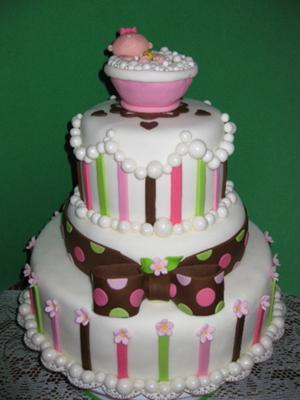 baby bath cake picture