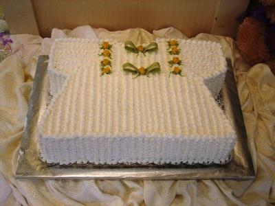 picture of baby dress cake