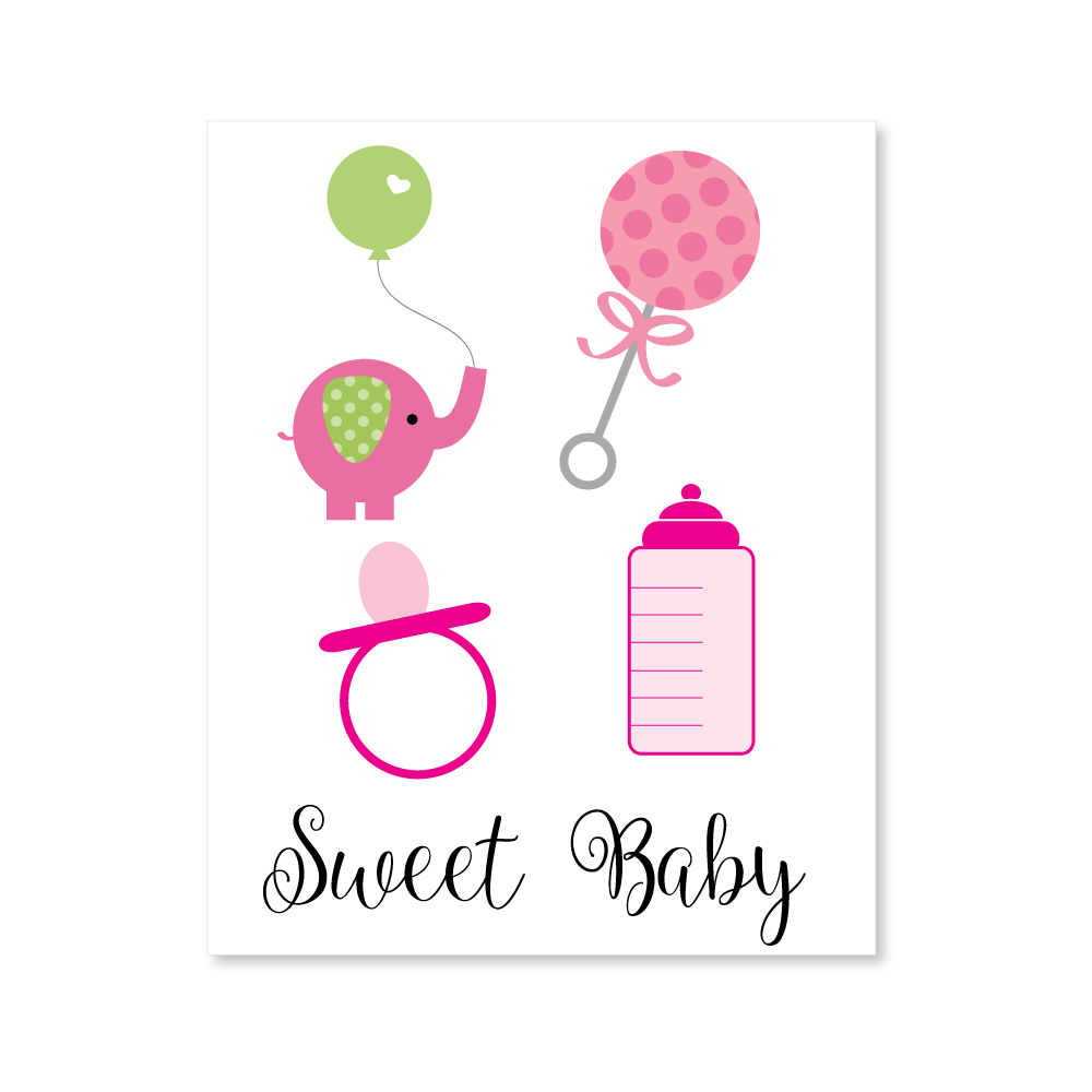 The Ultimate List Of Baby Shower Clip Art | CutestBabyShowers.com