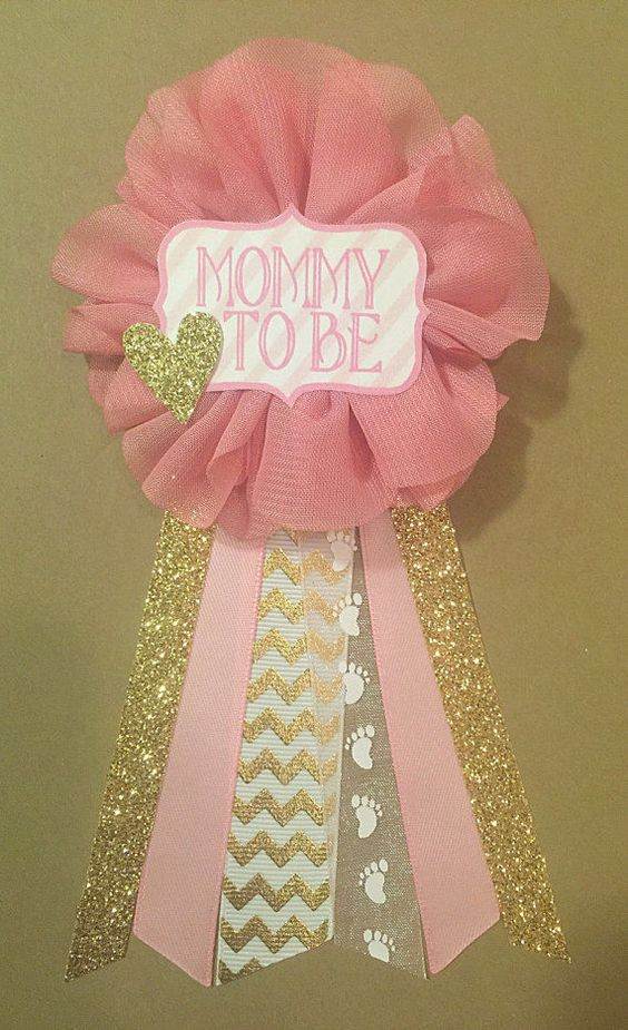 baby shower corsage picture