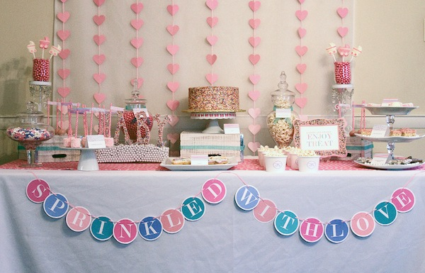 Charming Sprinkle Baby Shower