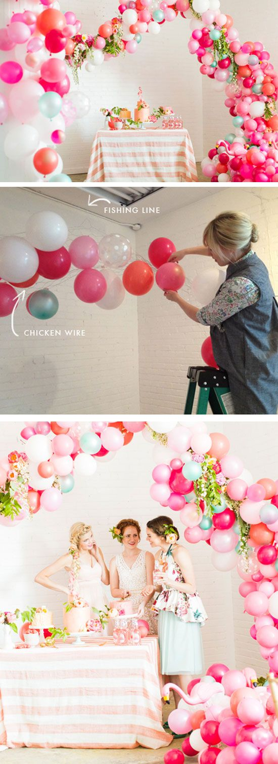 DIY Balloon Arch Banner