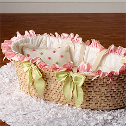 image of a baby bassinet
