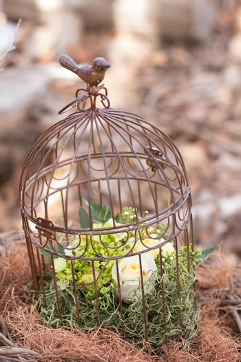 birds nest baby shower