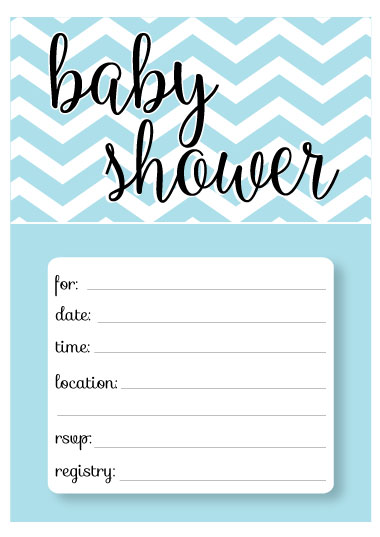 graphic about Free Printable Baby Registry Cards referred to as Printable Youngster Shower Invitation Templates - Cost-free shower