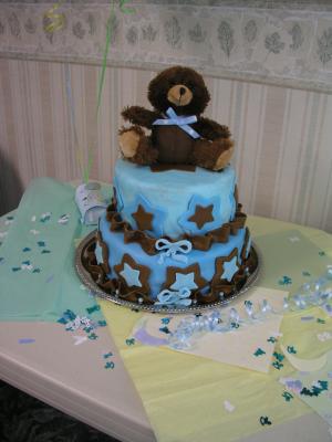 Diy Teddy Bear Cakes For A Baby Shower Cutestbabyshowers Com