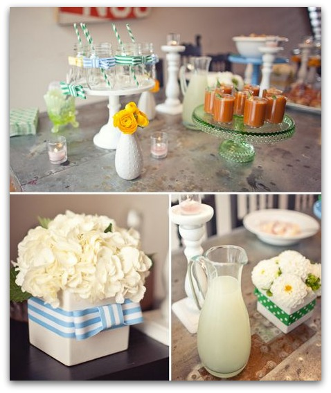 image for baby shower drinks for a baby boy