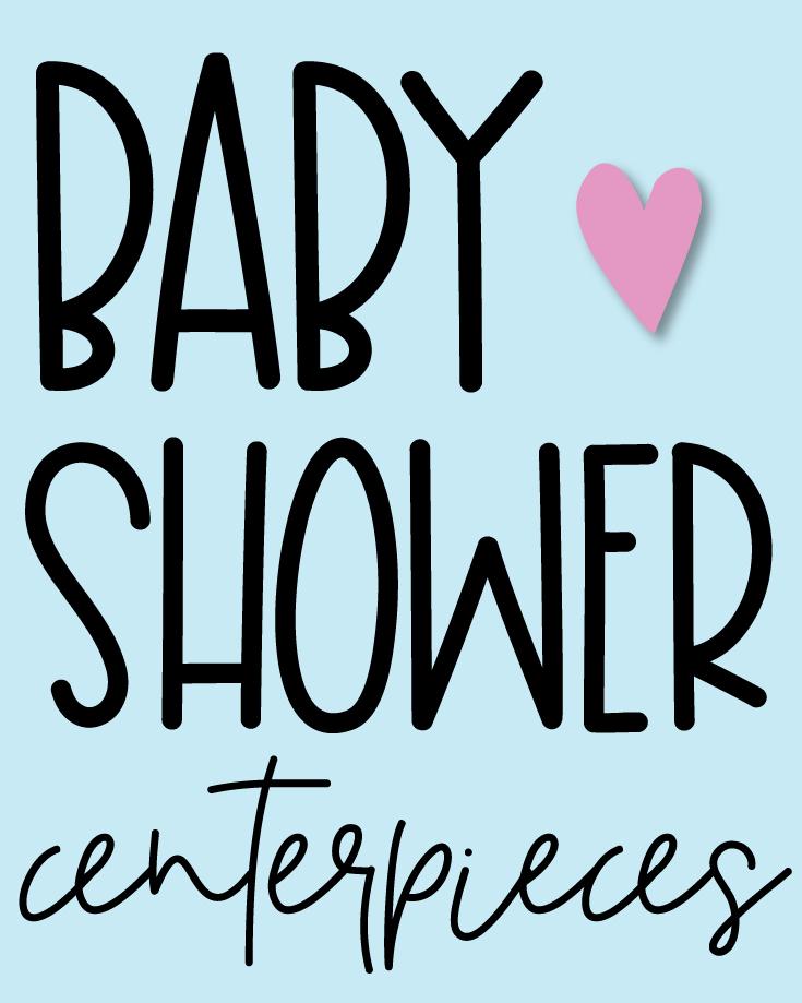 Diaper Pacifier Baby Shower Favors Keepsake Gift Centerpiece Boy Girl