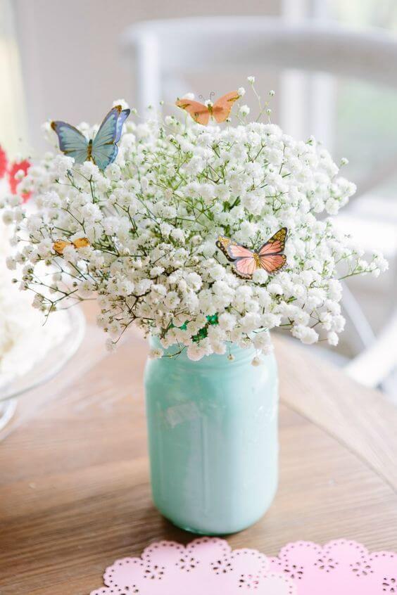 baby shower flower arrangements picture