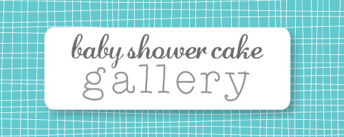 banner of baby shower cake gallery