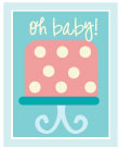 ... Cakes - Jazz up that cake by adding some cute baby shower cake wording
