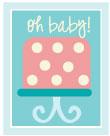 baby shower cake wording