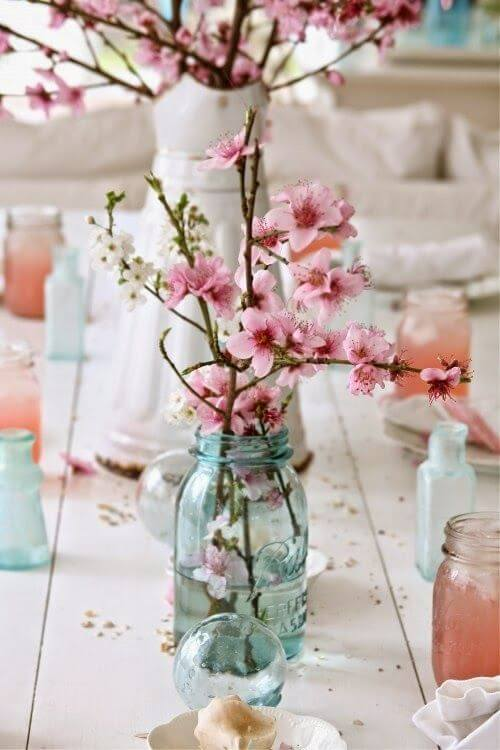 cherry blossom centerpiece picture