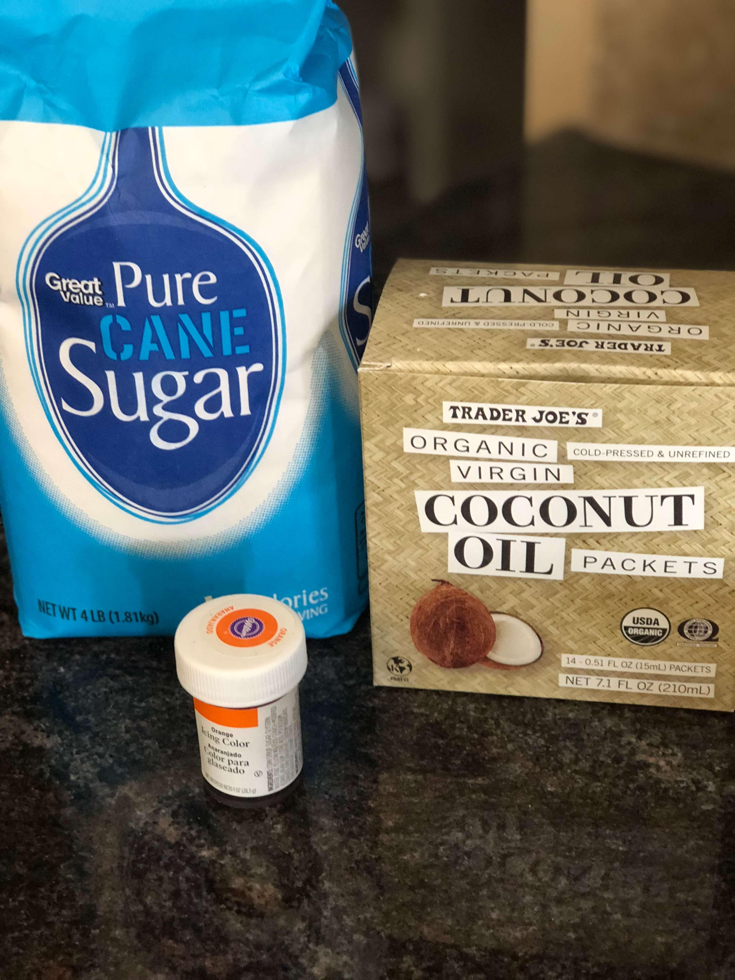 citrus sugar scrub recipe for easy baby shower favors